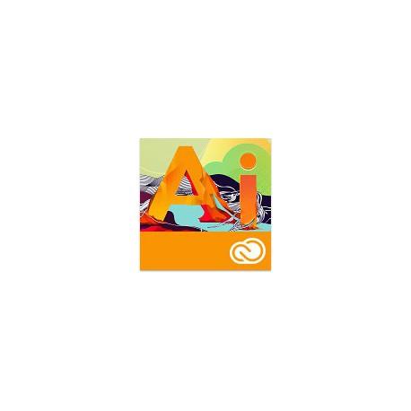 Adobe ILLustrator Creative Cloud dla firm 1 PC na 1 rok - NOWA