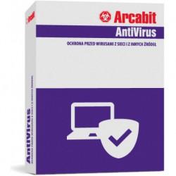 ArcaVir dla Urzędów Gmin i Miast, Starostwa 25 PC+Serwer 3 LATA