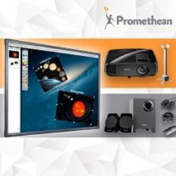 Tablica Interaktywna Promethean 78 Touch/projektor BenQ + uchwyt