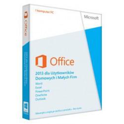 1 x MS Office 2013 dla Małych Firm i Użytkowników Domowych PL - 32/64 bit cena 2016