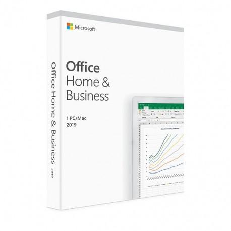1 x MS Office 2019 dla Małych Firm i Użytkowników Domowych BOX PL 32/64 bit - cena tylko na system MS Windows 10 nie na Mac