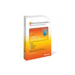 1 x MS Office 2010 dla Małych Firm i Użytkowników Domowych PL 32/64 bit